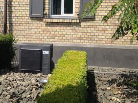 Split-Klimaanlage mit Außengerät in Alasky WorkArt Design